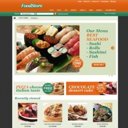 Food CS-Cart template