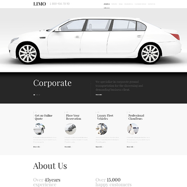 Automotive WordPress template