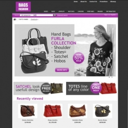 Fashion store CS-Cart template