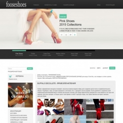The area of Internet, e-commerce osCommerce template