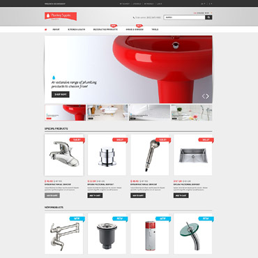 Service company, Online shop Magento template