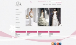Wedding website OpenCart template