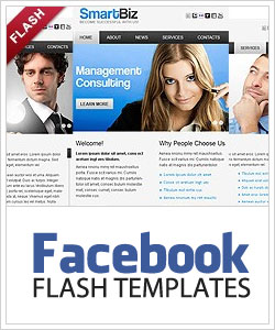 Facebook Flash шаблоны
